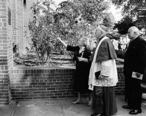 1967 Ward Hall Dedication with Justine Ward
