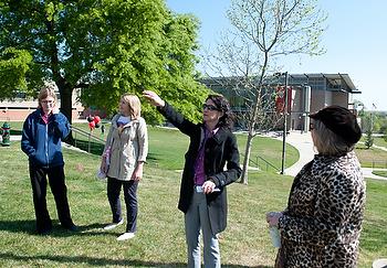 Image of campus tour, 2012