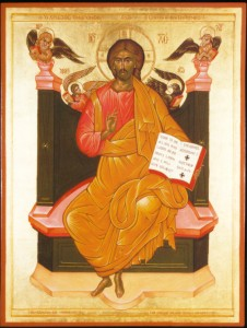 Christ Pantokrator Enthroned by Thomas Xenakis (1997)