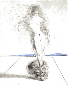 Death's Dead by Salvador Dalí (1968)