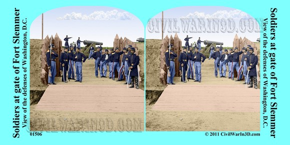Fort Slemmer in Color, 3D