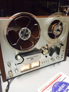 These open reel tapes sound sick. Believe.