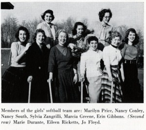 Softball Team, ca. 1955