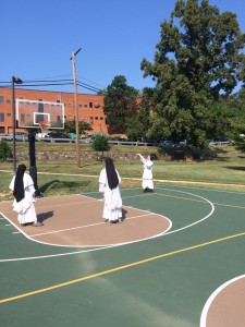 Today, one can find both women and men, lay and religious, honing their skills on the court (Maria Mazzenga, 2015)