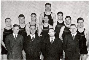 The 1938 CUA Boxing Team