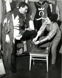 Costuming prep for The Juggler