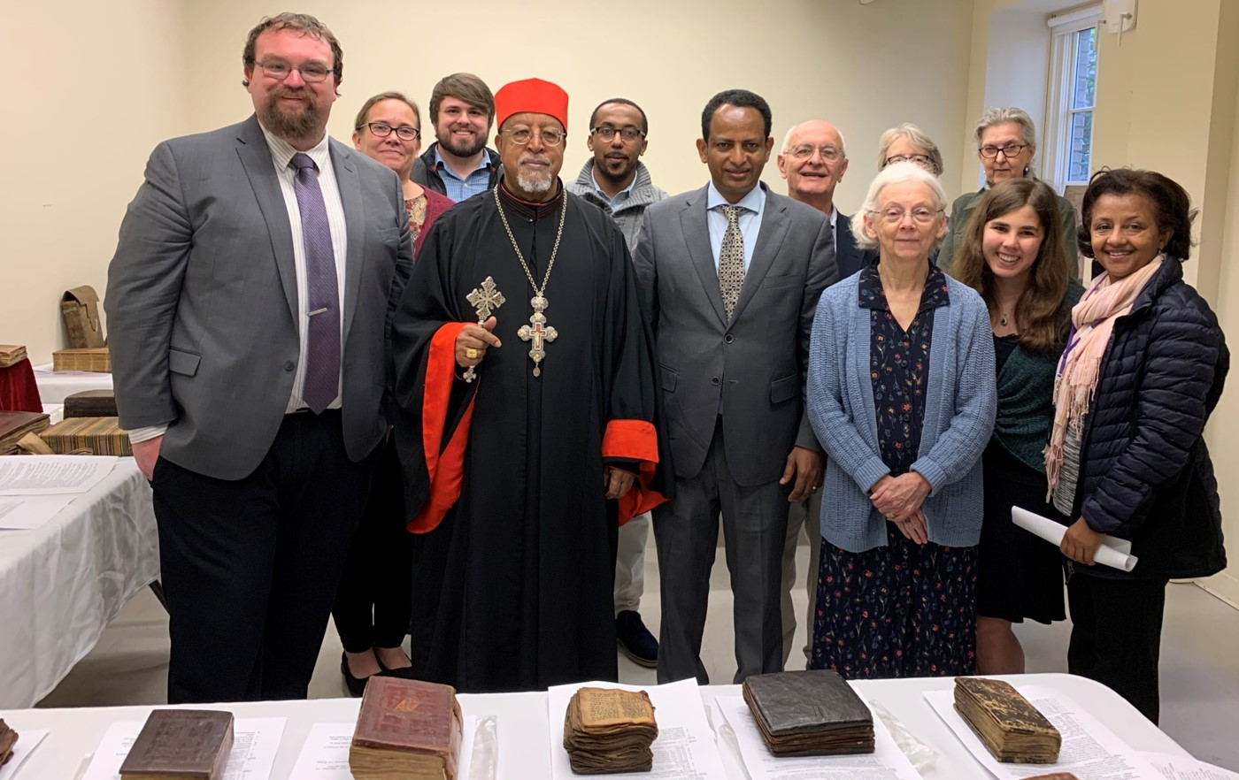 Visit of Cardinal Berhaneyesus Souraphiel