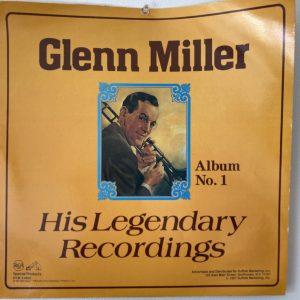 Glenn Miller Vinyl Record. Personal photo.
