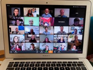 The University Libraries hold an All-Staff Meeting via Zoom.