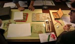 Image from Library Papyrus Conservation Workshop